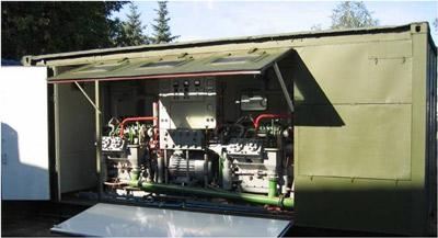 Транспортабельная кислородоазотодобывающая станция ТКДС-100В
