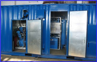 Установка кислородная ТАдК-0,018, АдК-0,060