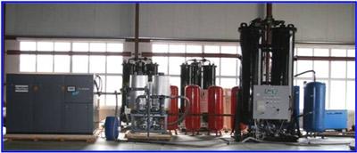Адсорбционные азотные установки АдА-0,010/99,5, АдА-0,010/99,9, АдА-0,100