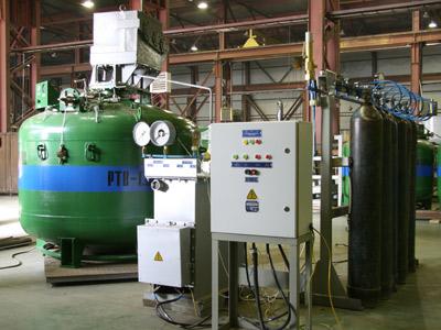 Установка газификационная стационарная СГУ-7КМ-У