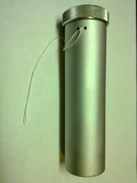 Пенал металлический-колба
